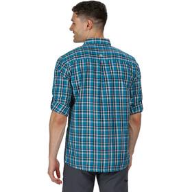 Regatta Mindano III Camiseta Manga Larga Hombre, olympic teal